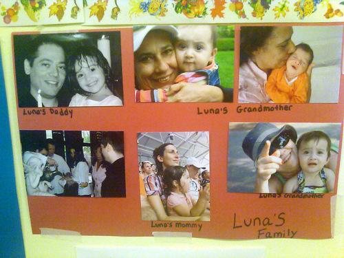 família da Luna