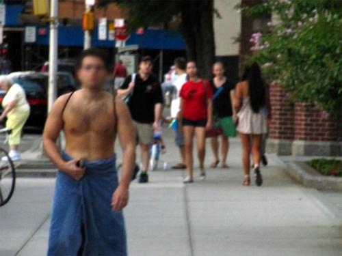De toalha em NY